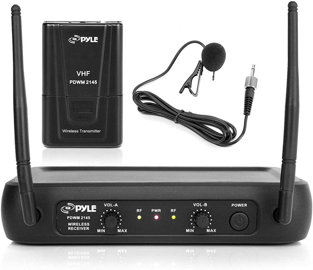 Pyle Dual Channel Wireless Microphone System
